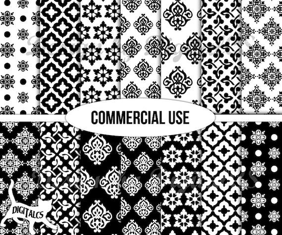 digitales papier schwarz wei digital scrapbook papier papier. Black Bedroom Furniture Sets. Home Design Ideas