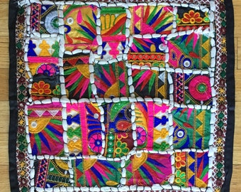 Patchwork Indian Pillow
