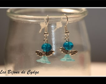 Earring and mini turquoise Angel