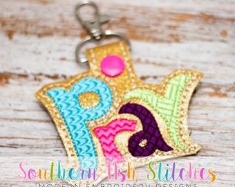 Pray SnapTab Embroidery Digital Download