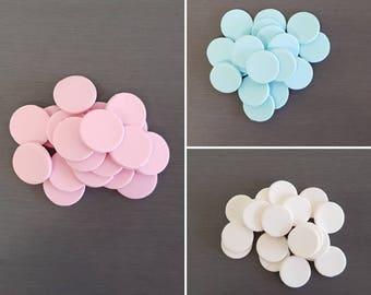 20 x Polka Dot decorations, edible polka dots, fondant dot decorations, Polka dot topper