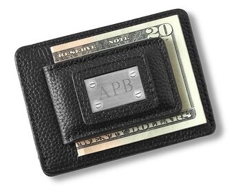 Studded Money Clip and Card Holder