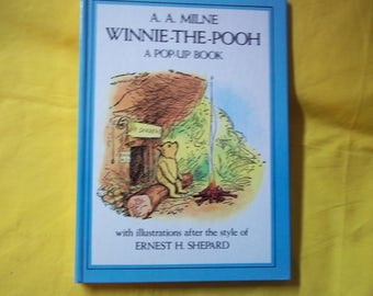A. A. Milne Winnie-The-Pooh, a Pop-up Book with illustrations after the style of Ernest H. Shepard