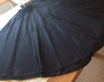 1950's full circle skirt size 8