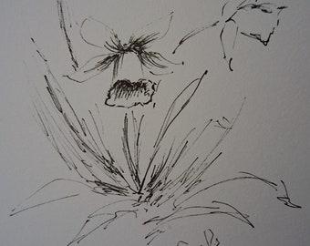 Spring daffodils flower A5