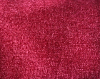 18 Red Upholstery Fabric. Gorgeous color!