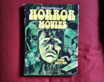 Denis Gifford - A Pictorial History of Horror Movies (Hamlyn 1976) - hardcover