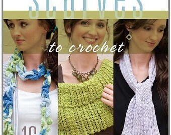 Scarves To Crochet Book