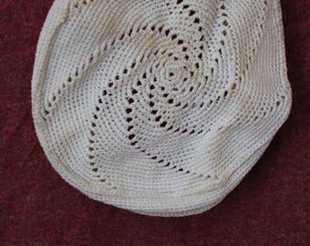 Crochet Baby Hat 1930's
