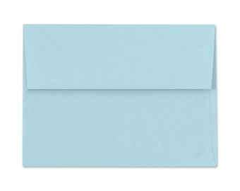 25 - 5x7 A7 Pastel Blue Envelopes for Invitations