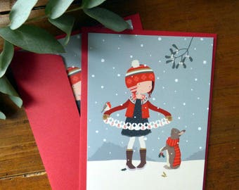 Set of 2 Happy New Year Postcards