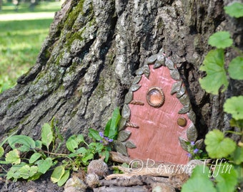 Enchanted Floral Garden - Woodland Wanderlust Fairy Door