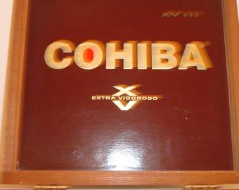 Vintage Cohiba cigar box purse