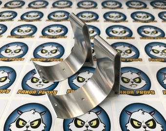 Stormtrooper Costume - Thermal Detonator / O2 Canister aluminium clips