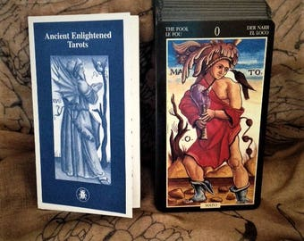 Sola Busca Ancient Enlightened Tarot Deck out of print mint condition Lo Scarabeo