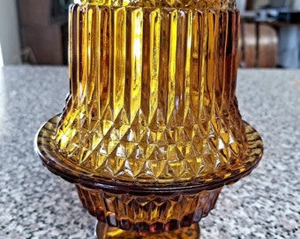 Fairy Light / Retro Amber Candle Light