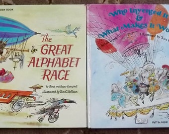 The Great Alphabet Race and Who Invented It & What Makes it Work?