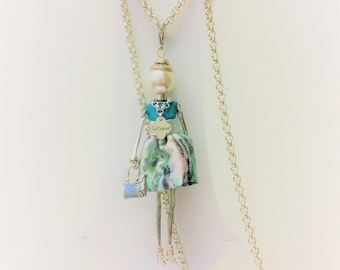 Turquoise Doll Necklaces