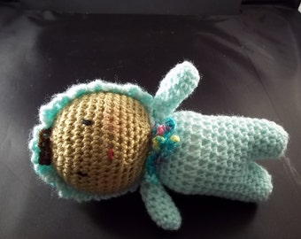 Newborn Baby Doll - Aqua