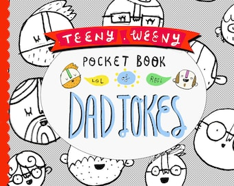 Father's Day Zine - Teeny Weeny Pocket Book of Dad Jokes