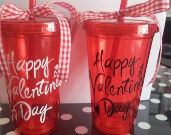 Boutique Happy Valentine's Day Cup Tumbler