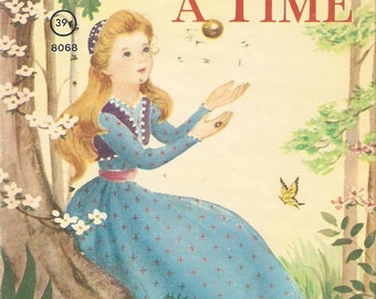 VINTAGE BOOK - Once Upon a Time - Story of the Frog Prince - Fairy Tales