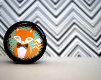 Dapper Fox Pill Box - Stocking Stuffers