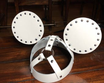 Leather Mickey Ears