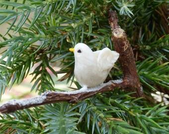 Christmas Twig Decoration: Dove