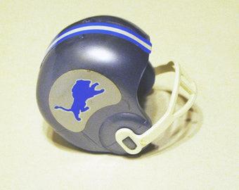 """Detroit """"Lions""""  -Starting Line-Up Emmitt Smith Helmet"""