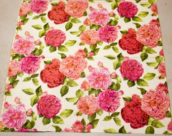 Decoupage napkin for decoupage Paper napkin shabby chic flower floral Decoupage napkins scrapbooking paper craft decoupage