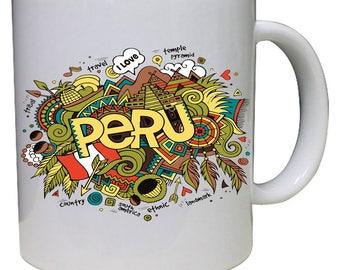 Peru Tropical I love Peru Beautiful Coffee Mug