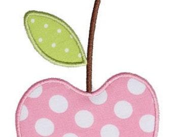 214 Cherry Machine Embroidery Applique Design