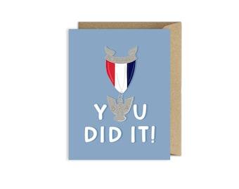 Eagle Scout Congratulations Card