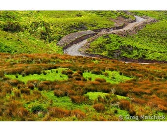 Fine Art Color Travel Photography of the Ring of Kerry Landscape in Ireland