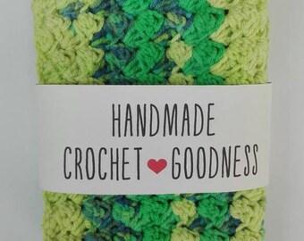 Set of 2 crochet dish cloths/washcloths