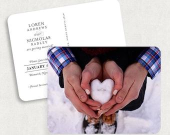 Photo Save the Date Postcards, Printable Save the Date Postcards, DIY Save the Date Postcards, Vintage Save the Date Postcards, DIY, PDF