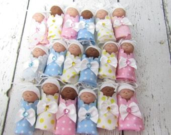 Polymer Clay Baby Bundled Baby Miniature