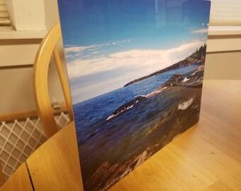 Shore of Lake Superior Photograph
