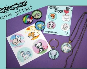 CUTIE GIFTSET - Bundle Kit Pack - kawaii gift set - ReLove Plan.et