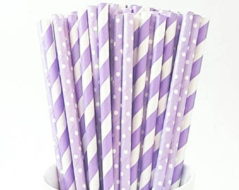 12 Purple Paper Straws || Cake Pop Stems, Party Supplies, Birthday Parties Decor, Wedding Decor, Party, Purple Straws, Baby Shower, Straws