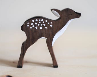 DEER wooden toy