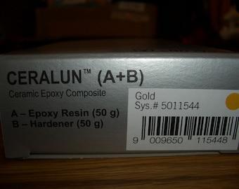 Sale 25%-Swarovski CeralunTM-gold-2x 50gr