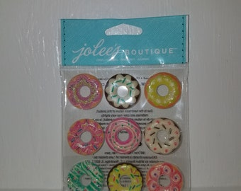 Jolee's Boutique Donut Puffy Stickers