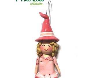 "The ""Wicked"" Collection:  Glinda (Ornament) - CAN BE PERSONALIZED w/ Add-On Option"