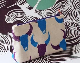 Antler small pouch