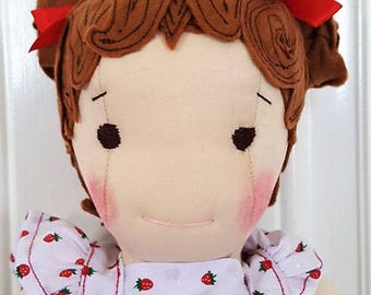 Sally - 15 inch Waldorf inspired button jointed doll