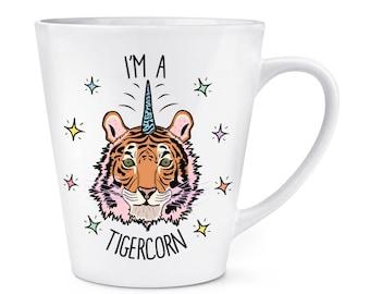I'm A Tigercorn 12oz Latte Mug Cup