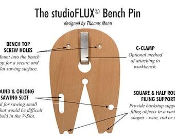 StudioFlux Bench Pin by Thomas Mann - Jewelry Sawing - Metal Working Jewelry Tool