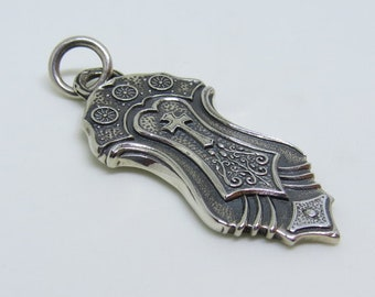 The Centurion - Unique, Sterling Silver Warrior Pendant